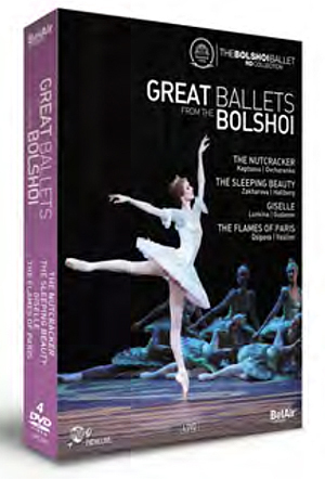 Great Ballets from the Bolshoi (2011) (NTSC Version) (Retail / Rental)