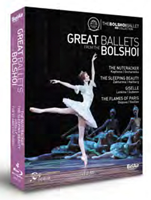Great Ballets from the Bolshoi (2011) (Blu-ray) (Retail / Rental)