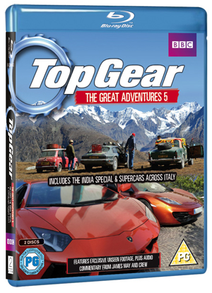 Top Gear - The Great Adventures: Volume 5 (2012) (Blu-ray) (Retail / Rental)