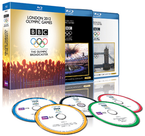 London 2012 Olympic Games - BBC the Olympic Broadcaster (2012) (Blu-ray) (Retail / Rental)