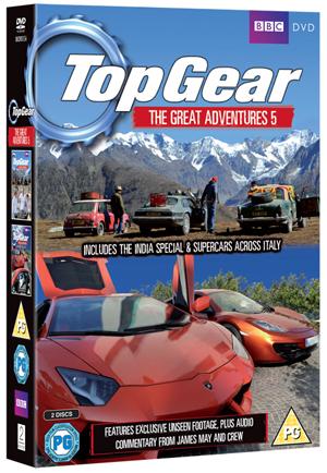 Top Gear - The Great Adventures: Volume 5 (2012) (Retail / Rental)