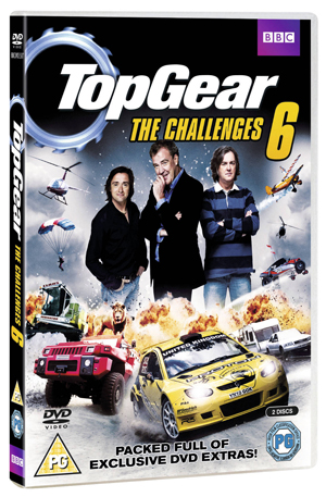 Top Gear - The Challenges: Volume 6 (2012) (Retail / Rental)