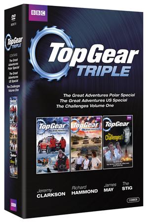 Top Gear Triple (2007) (Retail / Rental)