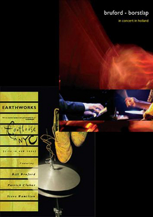 Bill Bruford's Earthworks: Footloose in NYC/In Concert in Holland (2014) (Retail / Rental)