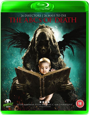 The ABCs of Death (2012) (Blu-ray) (Retail / Rental)