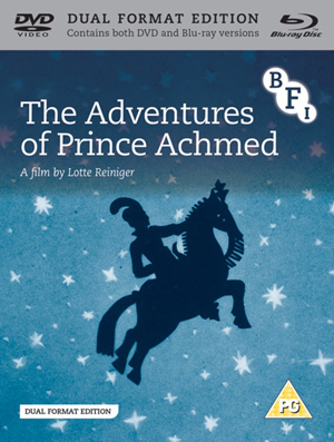 The Adventures of Prince Achmed (1926) (Blu-ray) (with DVD - Double Play) (Retail / Rental)