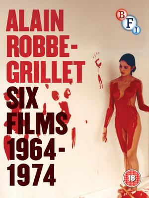 Alain Robbe-Grillet: Six Films 1964-1974 (1974) (Blu-ray) (Box Set) (Retail / Rental)