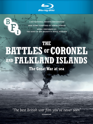 The Battles of Coronel and Falkland Islands (1927) (Blu-ray) (Retail / Rental)