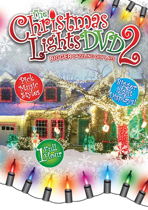 Christmas Lights: 2 - Bigger Dazzling Displays (2011) (Retail Only)