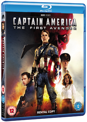 Captain America - The First Avenger (2011) (Blu-ray) (Rental)