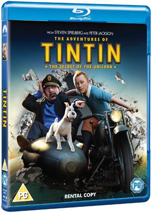 The Adventures of Tintin: The Secret of the Unicorn (2011) (Blu-ray) (Rental)