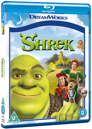 Shrek (2001) (Blu-ray) (Retail / Rental)