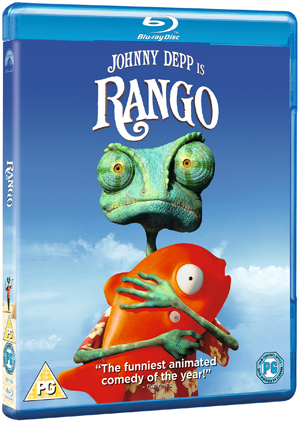 Rango (2011) (Blu-ray) (Retail Only)