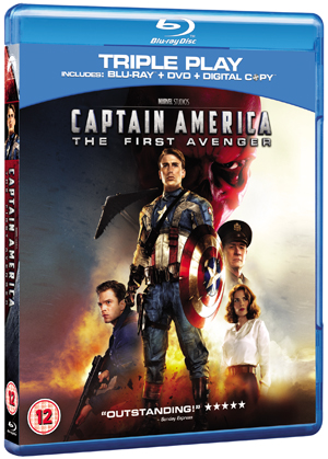 Captain America: The First Avenger (2011) (Blu-ray) (+ DVD and Digital Copy - Triple Play) (Deleted)