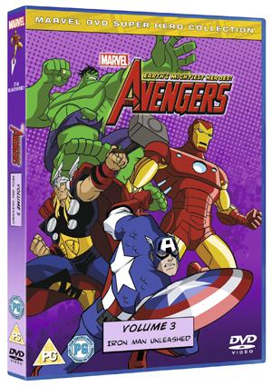 The Avengers - Earth's Mightiest Heroes: Volume 3 (2011) (Retail / Rental)