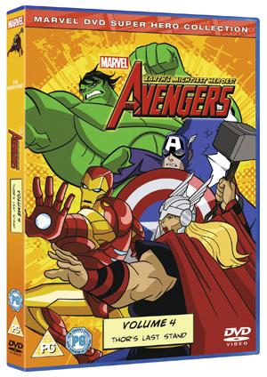 The Avengers - Earth's Mightiest Heroes: Volume 4 (2011) (Retail / Rental)