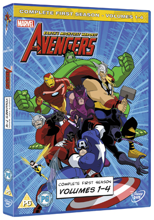 The Avengers - Earth's Mightiest Heroes: Volumes 1-4 (2011) (Deleted)