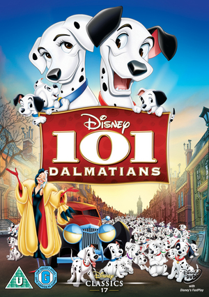 101 Dalmatians (1961) (Retail / Rental)
