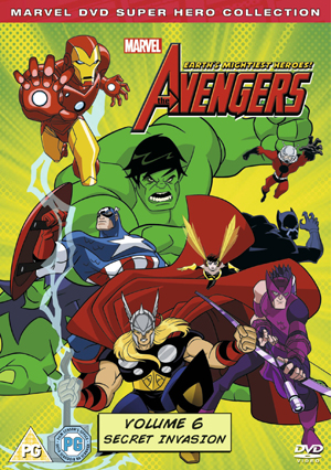 The Avengers - Earth's Mightiest Heroes: Volume 6 (2012) (Retail / Rental)