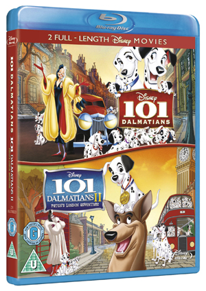 101 Dalmatians/101 Dalmatians 2 - Patch's London Adventure (2001) (Blu-ray) (Retail / Rental)