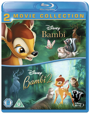Bambi/Bambi 2 - The Great Prince of the Forest (2005) (Blu-ray) (Retail / Rental)