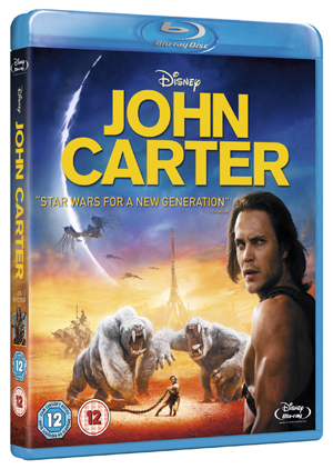 John Carter (2012) (Blu-ray) (Rental)