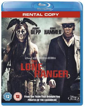 The Lone Ranger (2013) (Blu-ray) (Rental)