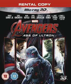 Avengers: Age of Ultron (2015) (Blu-ray) (3D Edition) (Deleted)