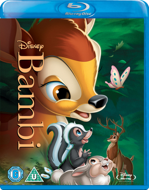 Bambi (1942) (Blu-ray) (Retail / Rental)