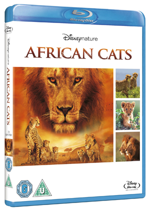 African Cats (2011) (Blu-ray) (Retail / Rental)