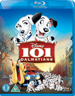 101 Dalmatians (1961) (Blu-ray) (Retail / Rental)