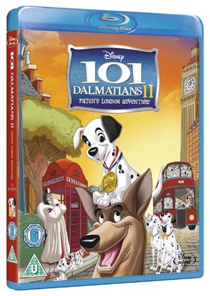 101 Dalmatians 2 - Patch's London Adventure (2002) (Blu-ray) (Retail / Rental)