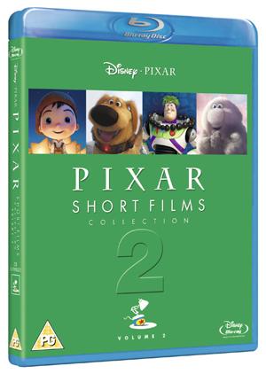 Pixar Shorts Films Collection: Volume 2 (2012) (Blu-ray) (Retail / Rental)