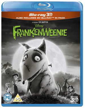 Frankenweenie (2011) (Blu-ray) (3D Edition with 2D Edition) (Retail Only)