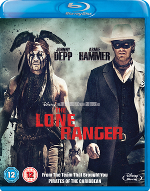 The Lone Ranger (2013) (Blu-ray) (Retail Only)