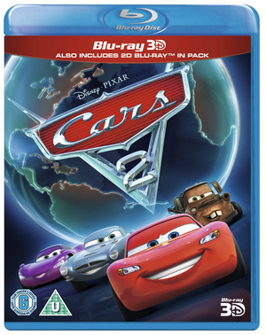 Cars 2 (2011) (Blu-ray) (3D Edition with 2D Edition) (Retail / Rental)