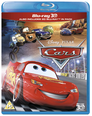 Cars (2006) (Blu-ray) (3D Edition with 2D Edition) (Retail / Rental)