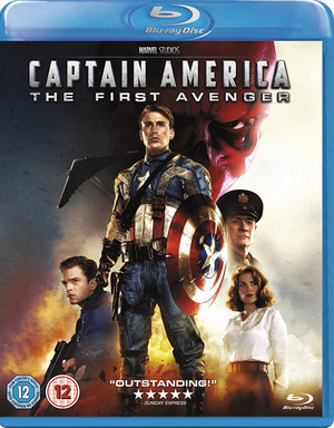 Captain America: The First Avenger (2011) (Blu-ray) (Retail / Rental)