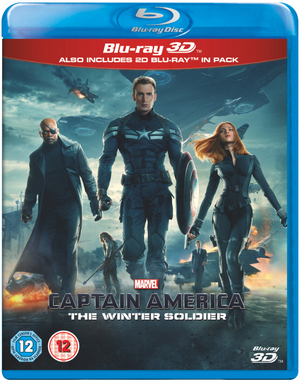 Captain America: The Winter Soldier (2014) (Blu-ray) (3D Edition with 2D Edition) (Retail Only)