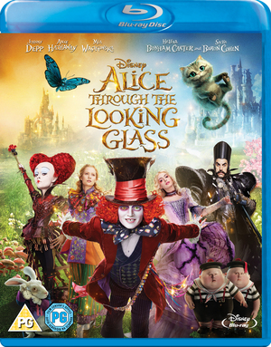 Alice Through the Looking Glass (2016) (Blu-ray) (Retail Only)