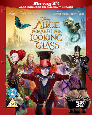 Alice Through the Looking Glass (2016) (Blu-ray) (3D Edition with 2D Edition) (Retail Only)