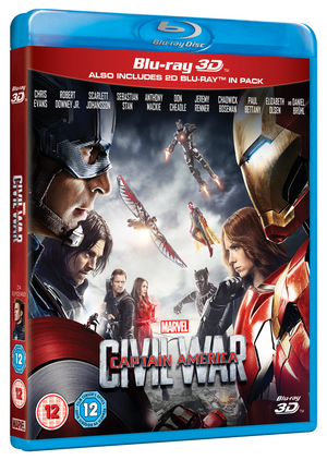Captain America: Civil War (2016) (Blu-ray) (3D Edition with 2D Edition) (Retail Only)