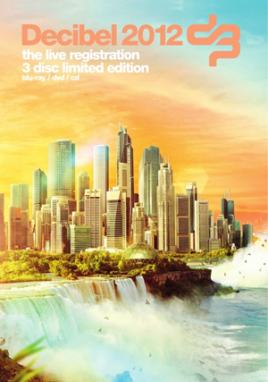 Decibel 2012: Live Registration (2012) (Blu-ray) (+ DVD and Audio CD) (Retail Only)