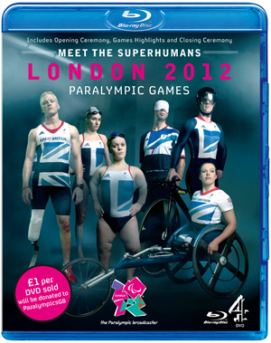 London 2012 Paralympic Games (2012) (Blu-ray) (Retail / Rental)