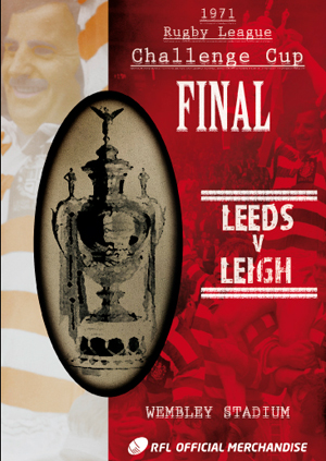 Rugby League Challenge Cup Final: 1971 - Leeds V Leigh (1971) (Retail / Rental)