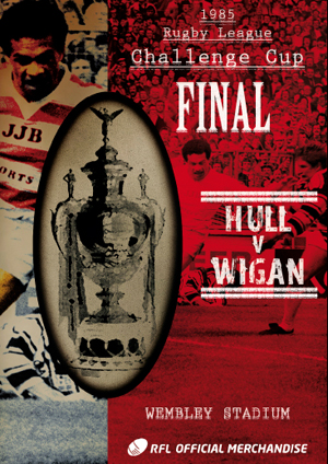 Rugby League Challenge Cup Final: 1985 - Hull V Wigan (1985) (Retail / Rental)