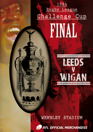 Rugby League Challenge Cup Final: 1994 - Leeds V Wigan (1994) (Retail / Rental)
