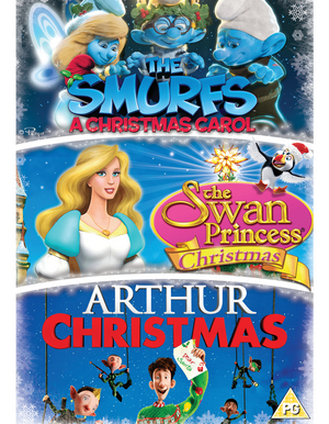 Arthur Christmas/The Smurfs: A Christmas Carol/The Swan... (2014) (Retail Only)