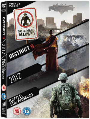 2012/Battle: Los Angeles/District 9 (2011) (Retail Only)