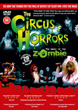 The Circus of Horrors: The Night of the Zombie (2015) (Retail / Rental)